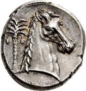 Tetradrachm (Uncertain Punic mint; Lilybaion or Entella) – revers