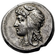 Tetradrachm (Punic military mint) – avers