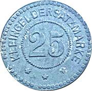 25 pfennig - Greifswald – revers