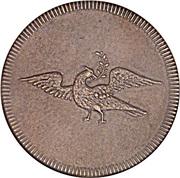 ¼ 'Penny' (Griqua Town) – avers