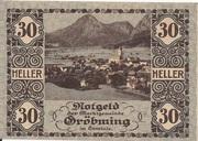 30 Heller (Gröbming) – avers