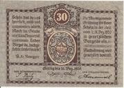 30 Heller (Gröbming) – revers