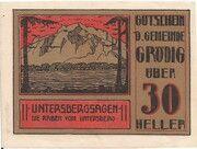 30 Heller (Grödig) – avers