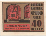 40 Heller (Grödig) – avers