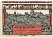 50 Pfennig (Grömitz) – avers