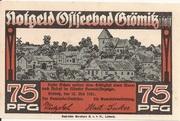 75 Pfennig (Grömitz) – avers