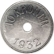 10 Kroner (Thule-Kap York) – revers