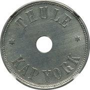 5 Kroner (Thule-Kap York) – avers