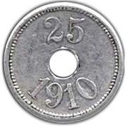 25 øre (Thule-Kap York) – revers