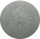 500 Øre (Royal Greenland Trade Company) – avers