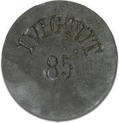 85 Øre (Ivigtut Cryolite Mining) – avers