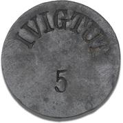 5 Øre (Ivigtut Cryolite Mining) – avers