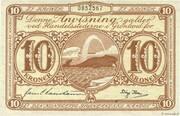 10 Kroner -  avers