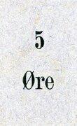5 Øre -  avers