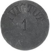 1 Øre (Ivigtut Cryolite Mining) – avers