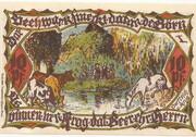 10 Pfennig (Groß-Flottbek) – revers