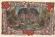 20 Pfennig (Groß-Flottbek) – revers