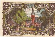 25 Pfennig (Groß-Flottbek) – revers