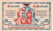 25 Pfennig (Groß Nordende) – avers