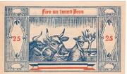 25 Pfennig (Groß Nordende) – revers
