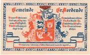 50 Pfennig (Groß Nordende) – avers