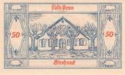 50 Pfennig (Groß Nordende) – revers