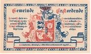 75 Pfennig (Groß Nordende) – avers