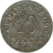 10 pfennig - Gross-Salze – revers
