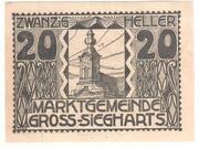 20 Heller (Gross-Siegharts) – avers