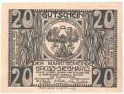 20 Heller (Gross-Siegharts) – revers
