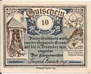 10 Heller (Grossarl) – avers