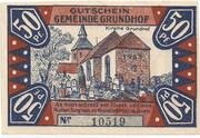 50 Pfennig (Grundhof in Angeln) – revers