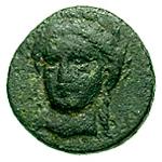 Bronze Æ12 (Autokane) – avers
