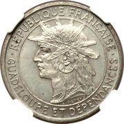 1 franc (Essai, Bronze) – avers
