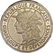 1 franc (Piéfort) – avers
