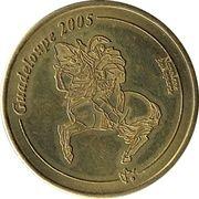 10 Euros cents Guadeloupe essai – avers