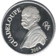 ¼ Euro essai (Guadeloupe) – avers