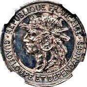 50 centimes (Essai, Argent) – avers