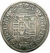 1 lira - Ferrante II – revers