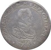 ½ scudo, 70 soldi Ferrante II – avers