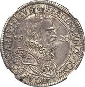 1 Tallero - Ferrante II – avers