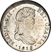 4 reales - Ferdinand VII (monnaie coloniale) – avers