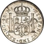 4 reales - Ferdinand VII (monnaie coloniale) – revers