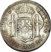 8 reales - Charles III (monnaie coloniale) – revers