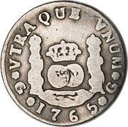 2 reales - Charles III (monnaie coloniale) – revers