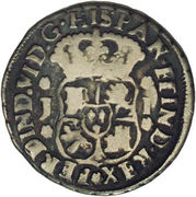 1 real - Ferdinand VI (monnaie coloniale) – avers