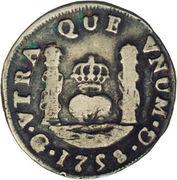 1 real - Ferdinand VI (monnaie coloniale) – revers