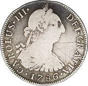 4 reales - Charles III (monnaie coloniale) – avers