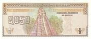 0,50 Quetzal – revers