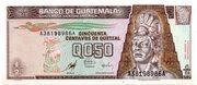 0.50 Quetzal – avers